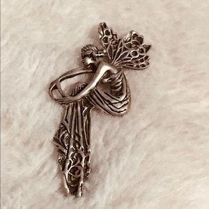 Silver Fairy Pendant